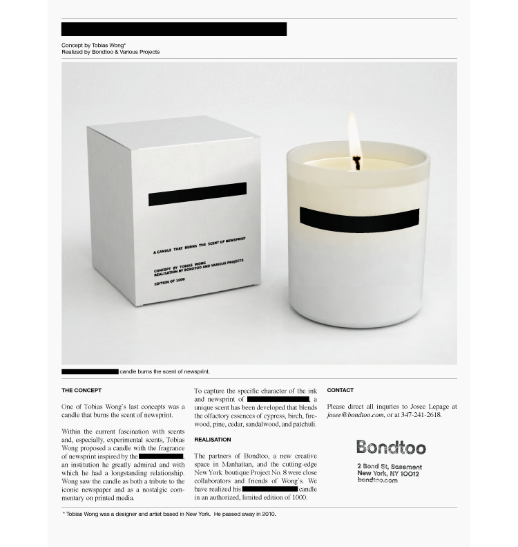 Censored candle