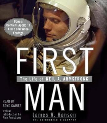 First Man audio book by James R. Hansen