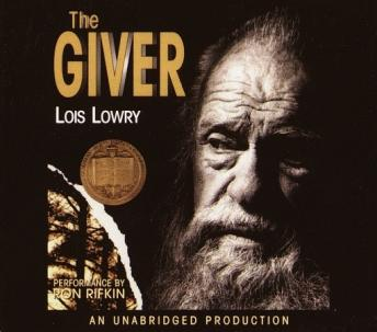 The Giver audio book by Lois Lowry