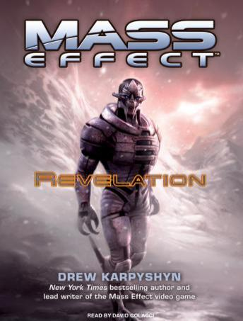 Mass Effect: Revelation audio book by Drew Karpyshyn