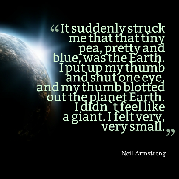 Neil Armstrong quotation, image from FreeDigitalPhotos.net