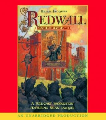 Redwall audio book by Brian Jacques
