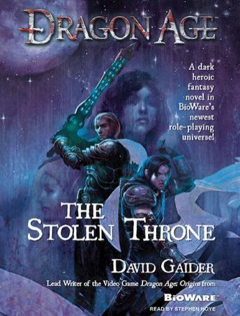 Dragon Age: The Stolen Throne audio book by David Gaider