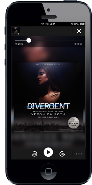 Divergent on iPhone
