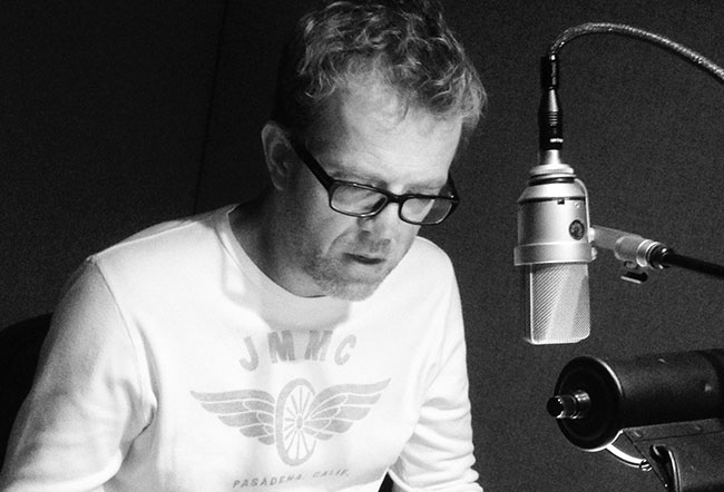 Narrator Scott Brick interviews author Nelson DeMille