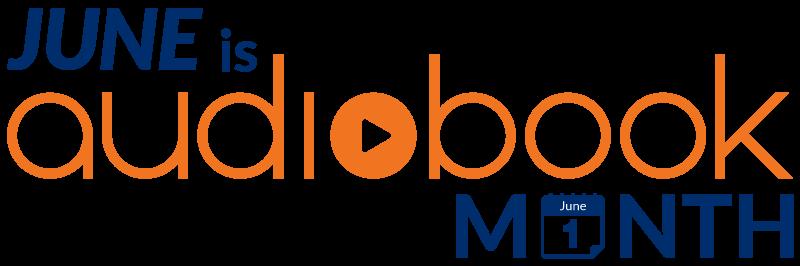 audiobook month logo