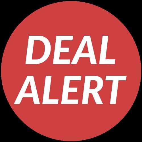 deal alert badge